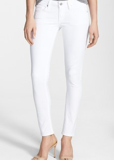 Citizens of Humanity 'Racer' Low Rise Skinny Jeans (Santorini White)