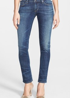 Citizens of Humanity 'Racer' Whiskered Skinny Jeans (Patina)