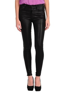 Citizens of Humanity Rocket High Rise Leatherette Skinny in Black