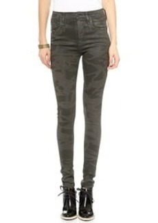 Citizens of Humanity Rocket Leatherette Skinny Jeans