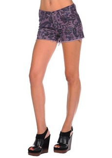 Citizens of Humanity Siam Paisley Cord Short in Iris
