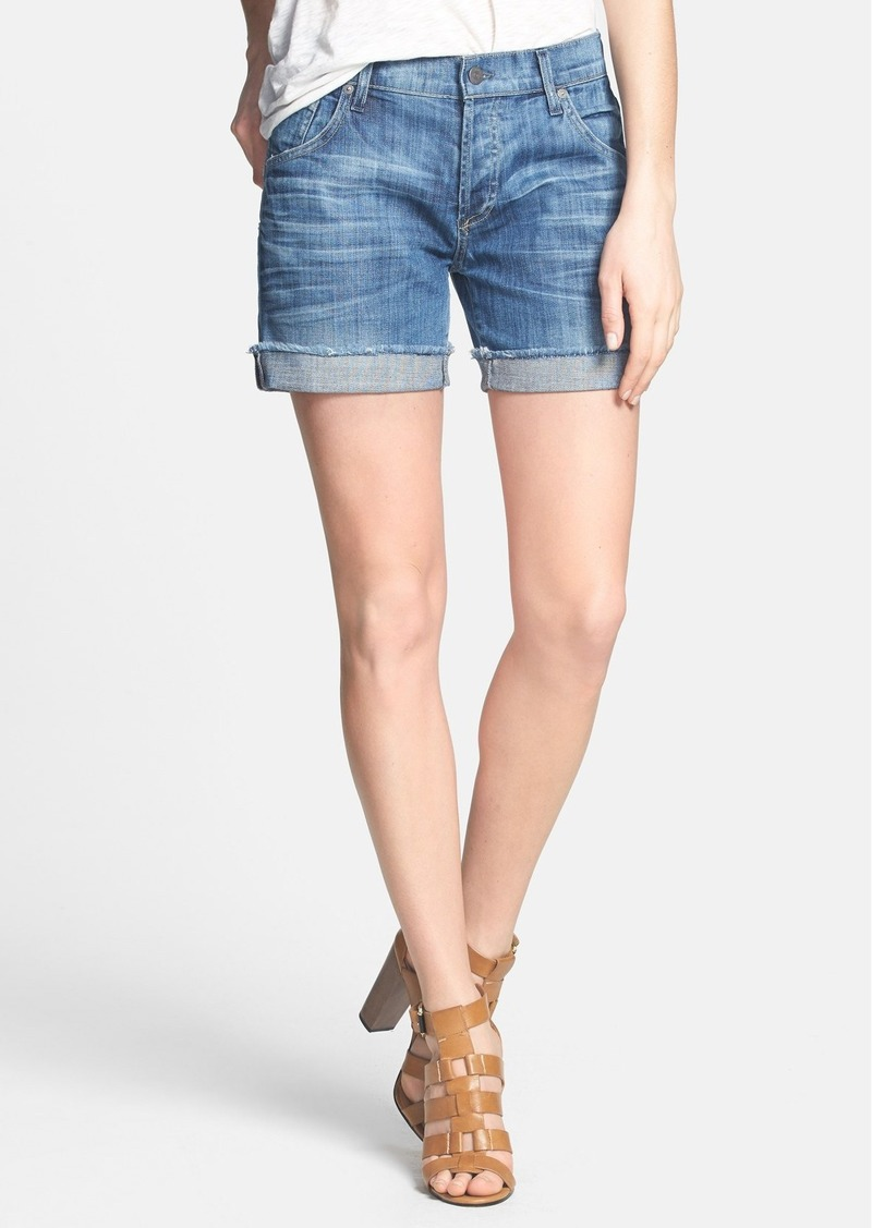 Citizens of Humanity 'Skyler' Denim Boyfriend Shorts (Serenity)
