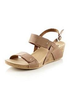 "Clarks® ""Alto Disco"" Platform Wedge Sandals"
