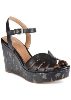 Clarks Artisan Women's Amelia Page Platform Wedge Sandals Women's Shoes