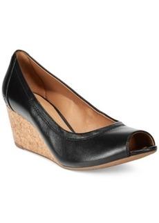 Clarks Artisan Women's Burmese Art Wedges Women's Shoes