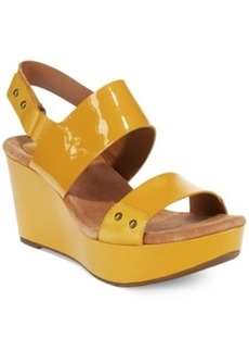 Clarks Artisan Women's Caslynn Dez Platform Wedge Sandals Women's Shoes