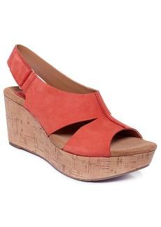 Clarks Artisan Women's Caslynn Lizzie Plaform Wedge Sandals