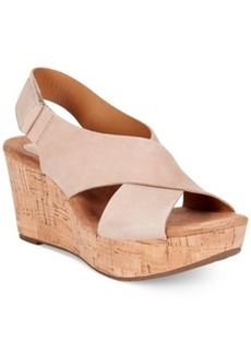 Clarks Artisan Women's Caslynn Shae Platform Wedge Sandals Women's Shoes