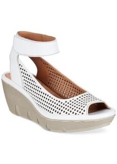 Clarks Artisan Women's Clarene Prima Platform Sandals Women's Shoes