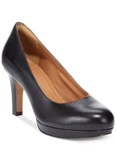 Clarks Artisan Women's Delsie Bliss Platform Pumps Women's Shoes