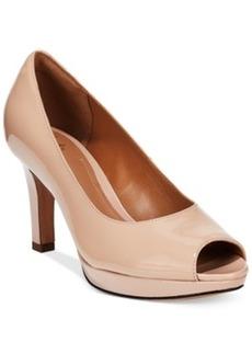Clarks Artisan Women's Delsie Britta Platform Pumps Women's Shoes