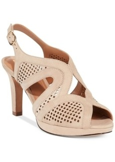 Clarks Artisan Women's Delsie Grace Platform Sandals Women's Shoes