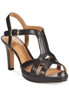 Clarks Artisan Women's Delsie Risa Platform Evening Sandals Women's Shoes