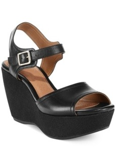 Clarks Artisan Women's Nadene Lola Platform Wedge Sandals Women's Shoes
