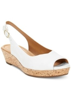 Clarks Artisan Women's Orlena Currant Platform Wedge Sandals Women's Shoes