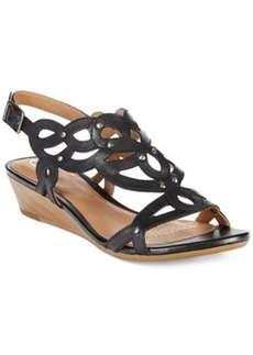 Clarks Artisan Women's Playful Tunes Wedge Sandals Women's Shoes