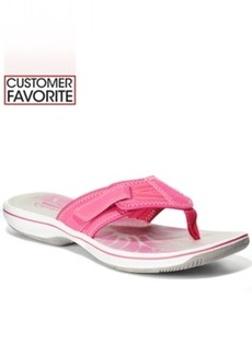 Clarks Collection Women's Brinkley Athol Flip Flops Women's Shoes
