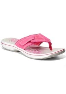 Clarks Collection Women's Brinkley Athol Flip Flops Women's Shoes