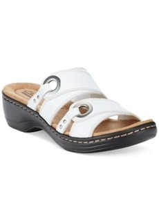 Clarks Collection Women's Hayla Acedia Flat Sandals (Only at Macy's) Women's Shoes