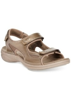 Clarks Collection Women's In Motion Thorn Flat Sandals Women's Shoes