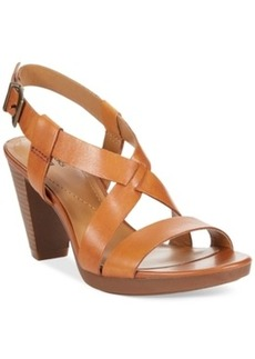 Clarks Collection Women's Jaelyn Fog Platform Sandals Women's Shoes