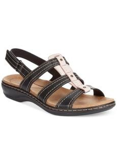Clarks Collection Women's Leisa Daisy Flat Sandals Women's Shoes