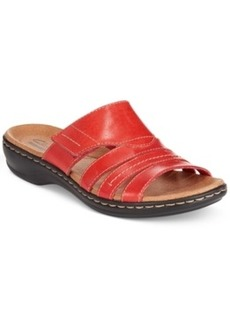 Clarks Collection Women's Leisa Grove Flat Sandals (Only at Macy's) Women's Shoes