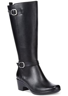Clarks Collections Women's Malia Poplar Wide-Calf Tall Boots