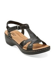 """Clarks® """"Hayla Flute"""" Casual Wedge Sandals"""