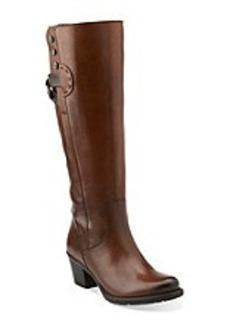 "Clarks® ""Maymie Stellar"" Casual Boots - Cognac"
