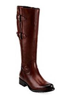 "Clarks® ""Mullin Spice"" Knee High Boot - Tan"