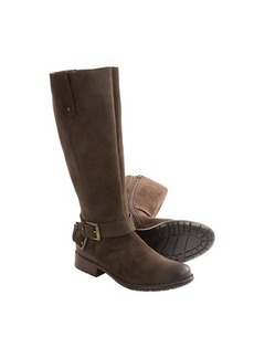 Clarks Plaza Steer Suede Boots - Full Zip (For Women)