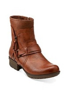 """Clarks® """"Riddle Avant"""" Casual Layered Booties"""