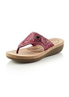 "Clarks® ""Trista Mint"" Studded Sandals"