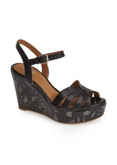 Clarks® 'Amelia Paige' Platform Wedge Sandal (Women)