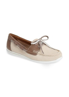 Clarks® 'Cliffrose Sail' Leather Loafer (Women)