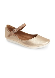 Clarks® 'Feature Film' Leather Mary Jane Flat (Women)