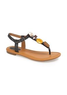 Clarks® 'Indira Pompano' Beaded Thong Sandal