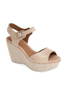 Clarks® 'Nadene Lola' Wedge Sandal (Women)