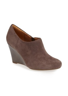 Clarks® 'Purity Frost' Wedge Bootie (Women)