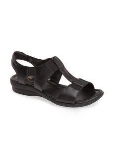 Clarks® 'Reid Delmar' Leather Sandal (Women)