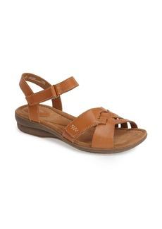 Clarks® 'Reid Laguna' Leather Sandal (Women)