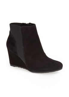 Clarks® 'Rosepoint Bell' Suede Wedge Boot (Women)
