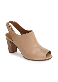 Clarks® 'Shira' Leather Sandal (Women)