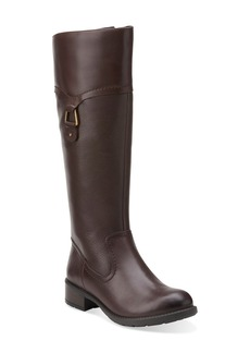 Clarks® 'Swansea Bridge' WaterproofTall Boot (Women)