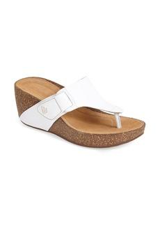 Clarks® 'Temira West' Wedge Sandal (Women)