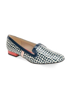 Clarks® x Orla Kiely 'Bella' Floral Print Patent Leather Loafer (Women)