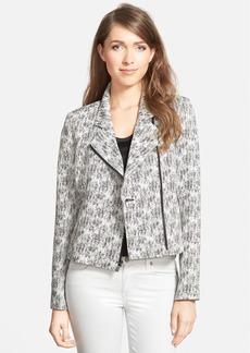 Classiques Entier® Asymmetrical Zip Jacquard Jacket (Regular & Petite)