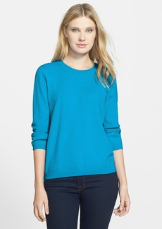 Classiques Entier® Back Zip Textured Sweater