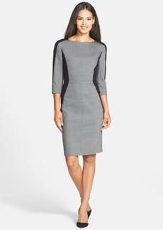 Classiques Entier® Bateau Neck Colorblock Sheath Dress